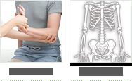 関節の痛み、カラダの歪み